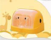 奶瓶收納盒 兒童奶瓶儲存盒干燥架翻蓋防塵收納箱餐具收納盒奶粉盒奶瓶架