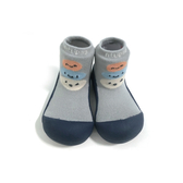 韓國 Attipas 快樂腳襪型學步鞋-藍底麻吉