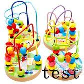 (百貨週年慶)繞珠串珠積木男孩女寶寶早教益智力幼兒童玩具1-2歲-3周歲