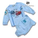 藍色交通工具圖案薄棉長袖居家休閒服 睡衣套裝 RQ POLO 春夏款 [31166]