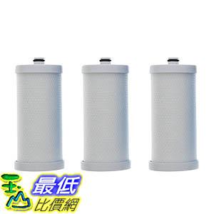 [106美國直購] 3 Frigidaire WFBC Refrigerator Water Purifier Filter 5303917752, RF-200, RC-200, RC-101