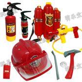 兒童玩具背包水槍高壓噴水滅火器消防員山姆帽 小確幸生活館