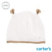 【美國 carter s】米色大象針織帽-台灣總代理