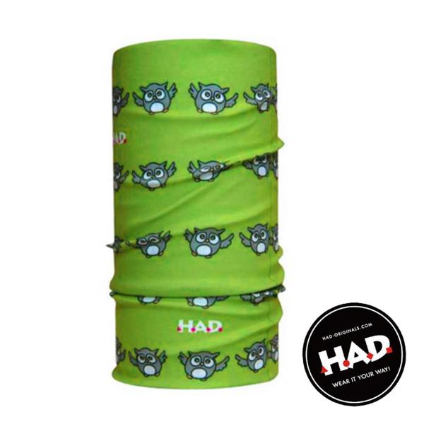 【德國 HAD】兒童 排汗透氣頭巾 HA120-0194 百變頭巾 魔術頭巾 自行車頭巾 面罩 脖套 圍巾