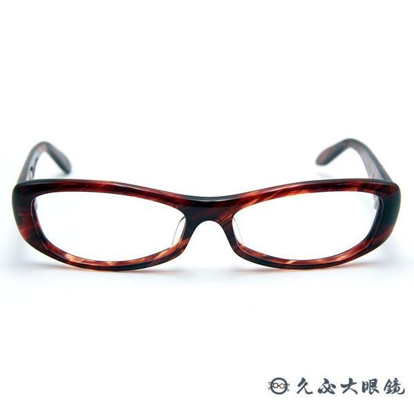 角矢甚治郎 日本手工眼鏡 忍系列 ノ一 C-21 棕 久必大眼鏡