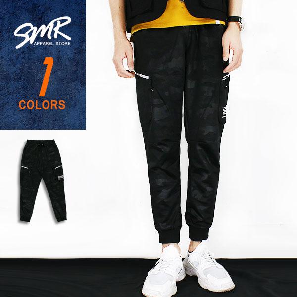 棉褲-數碼迷彩工裝棉褲-百搭迷彩款《99991096》黑色【現貨+預購】『SMR』