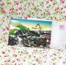 【收藏天地】插畫明信片★立體明信片-九份的天空/ 送禮 旅遊紀念