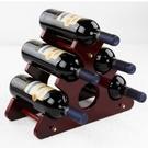 紅酒架擺件木質歐式葡萄酒架