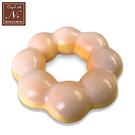【日本正版】白巧克力 波堤 捏捏吊飾 甜甜圈 吊飾 捏捏樂 軟軟 cafe de n squishy 捏捏 - 618702