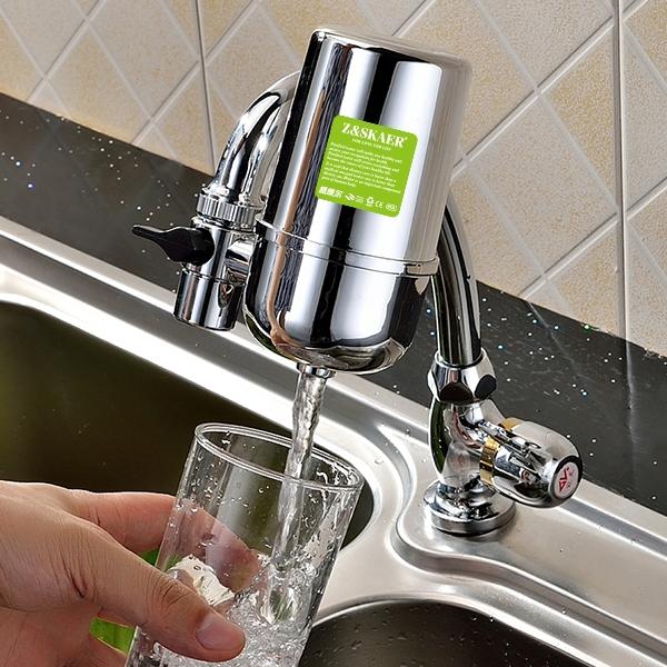 淨水器-盛康爾水龍頭凈水器家用廚房直飲濾水器陶瓷除垢自來水過濾器家用 米家