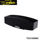 T.c.star 連鈺 Hi-Fi雙聲道 原音。悸動 無線藍牙通話喇叭(黑色) TCS1200BK