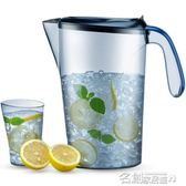 夏天涼水壺耐熱塑料冰箱冷水杯夏季水壺家用大容量耐高溫 名稱家居館 igo