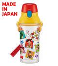 里和家居 迪士尼玩具總動員(透明) 日本製單手彈蓋直飲水壺480ml 飲料壺 隨手杯