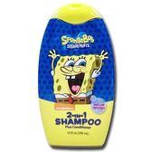 美國進口 Sponge Bob 海綿寶寶二合一洗潤髮乳-香甜哈密瓜296ml