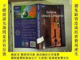 二手書博民逛書店Estonia罕見Latvia & Lithuania 愛沙尼亞