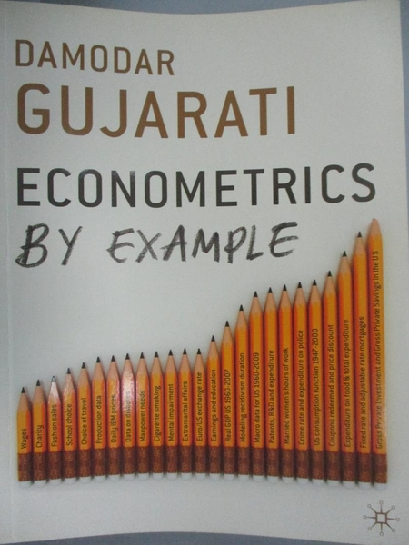 【書寶二手書T3/大學商學_ZJY】Econometrics by example_Damodar Gujarati