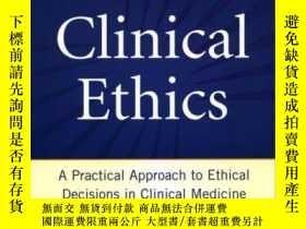 二手書博民逛書店Clinical罕見Ethics: A Practical Ap