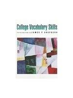 二手書博民逛書店 《College Vocabulary Skills》 R2Y ISBN:0395708494│Shepherd