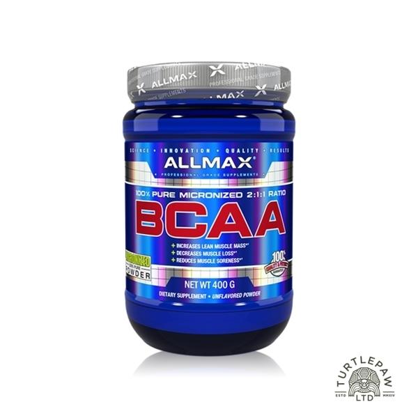 【加拿大ALLMAX】奧美仕BCAA支鏈胺基酸粉末 (400公克)