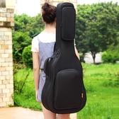 ruiz魯伊斯加厚加棉民謠木吉他包39寸40寸41寸雙肩琴包防水背包 瑪麗蘇DF