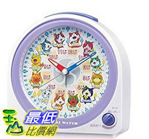 [東京直購] SEIKO CLOCK CQ145W 時鐘 鬧鐘 Yokai Watch 妖怪手錶 Alarm Clock