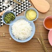 ✭慢思行✭【P583】環保小麥兒童餐盤 小麥纖維 分格 點心 衛生  西餐盤 塑料碗 耐摔 健康