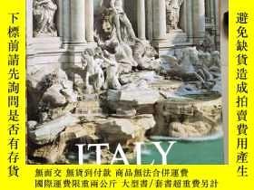 二手書博民逛書店ITALY:罕見A journey of dreams 英文原版 布面精裝小8開Y85718 如圖 Magnu