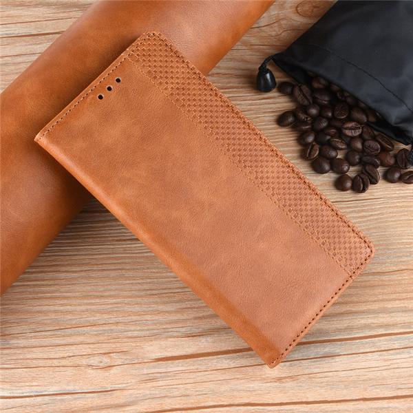 Sony Xperia 10 plus 手機殼 復古紋 翻蓋 支架 皮套 磁吸 可插卡 保護套 簡約 磨砂 保護殼 軟殼