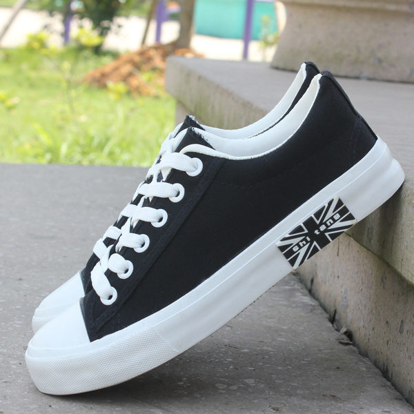帆布鞋男鞋學生低幫板鞋潮鞋透氣韓版休閒小白鞋男 潮男街