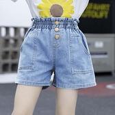 女童短褲 兒童夏裝女童牛仔短褲2021新款夏季中大童洋氣薄款女孩寶寶短褲子
