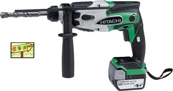 [ 家事達 ]HITACHI-DH14DSL  日立  5分充電式電動鎚鑽-14.4V   特價