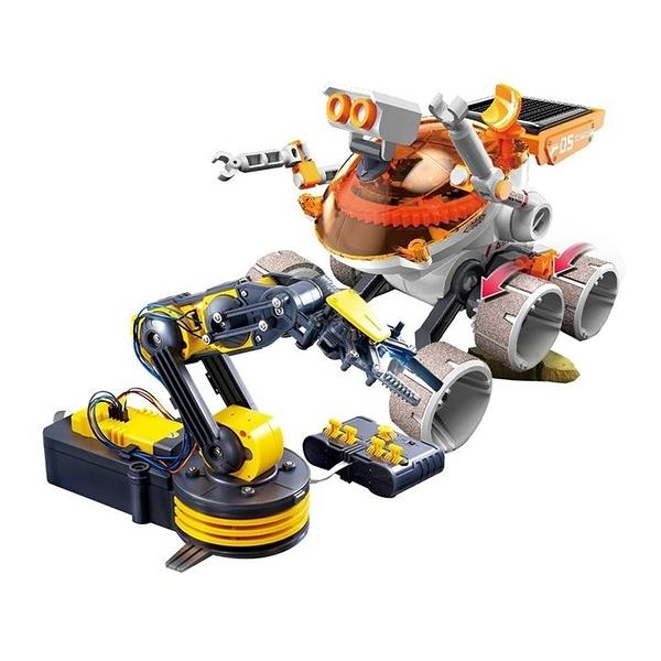 Pro sKit 寶工機械手臂+太陽能探險車組