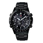 CASIO EDIFICE 簡潔風尚太陽能電波錶(黑)