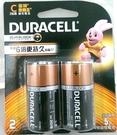 Duracell 金頂鹼性2號 電池 【2入/片】