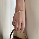 手鏈 法式復古手鏈女小眾設計簡約冷淡風手鐲氣質韓版網紅手飾【快速出貨八折下殺】