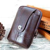 手機腰包男士穿皮帶豎款5.5寸多功能6寸腰掛扣包手機包 超值價