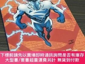 二手書博民逛書店SUPERMAN罕見BLUE VOL. 1   DC 超人藍第一卷 國際正義聯盟(美國DC漫畫旗下超級英雄
