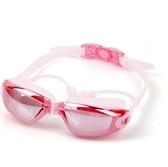 游泳鏡大框電鍍泳鏡男女士游泳眼鏡耳塞泳帽套裝 朵拉朵