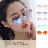 《Caroline》★今年度最新網紅款潮流行時尚百搭抗UV太陽眼鏡 71364標檢局D74321