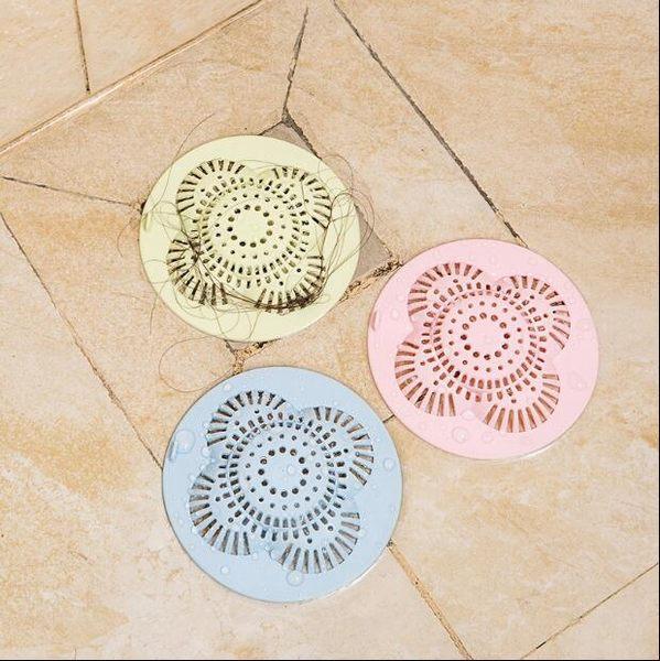 【TT】花型防堵塞 水槽防堵塞 地漏蓋浴室頭髮篩檢程式廚房水池下水道毛髮過濾網