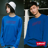 Levis 男女同款 大學T / 繡線Logo