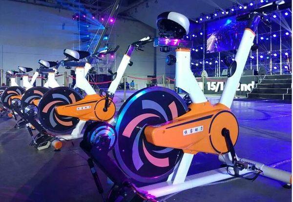 發電單車健身動感發電腳踏單車【蘇迪蔓】igo