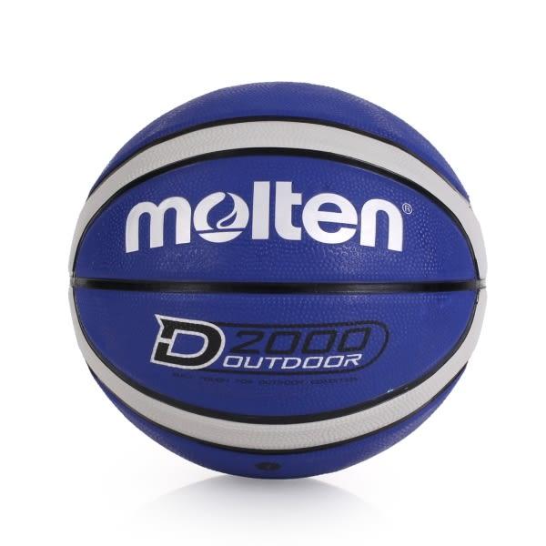 MOLTEN 12片橡膠深溝籃球-七號球