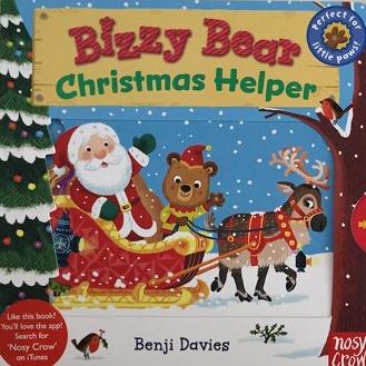 【Bizzy Bear操作書】BIZZY BEAR: CHRISTMAS HELPER /硬頁書操作書 /主題:聖誕節