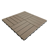 日式木紋防水拼接地板駝-9入