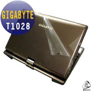 EZstick機身保護貼-GIGABYTE T1028系列專用(含上蓋及鍵盤週圍)機身貼