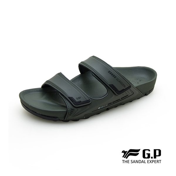 G.P (男) 【VOID】機能柏肯拖鞋-軍綠(另有藍)