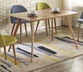 【新北大】✪ G424-1喬絲4尺木紋餐桌(不含餐椅)-18購