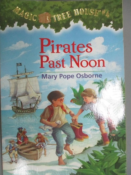 【書寶二手書T1/原文小說_KLK】Pirates Past Noon_Osborne, Mary Pope/ Murdocca, Sal (ILT)