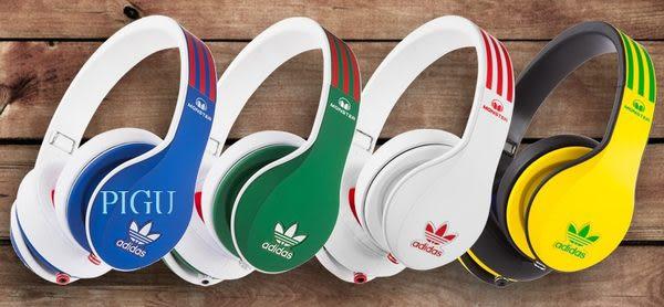 平廣 魔聲 愛迪達 MONSTER x adidas 耳機 OVER-EAR 聯名 耳罩式 公司貨特價出清 有線式